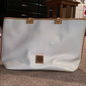 Dooney&Bourke White large tote bag